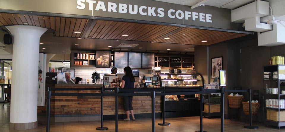U of M Starbucks Coffee